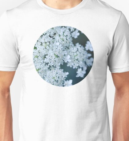 Faded Queen Ann's Lace Unisex T-Shirt