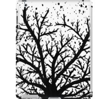 Black and White Tree iPad Case/Skin