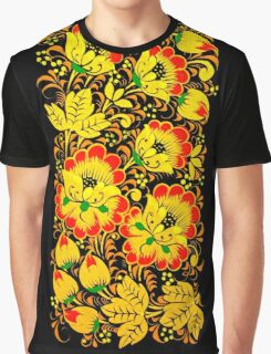 Floral ethnic print Graphic T-Shirt