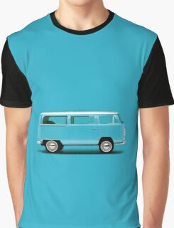 Sky Blue Type 2 Graphic T-Shirt