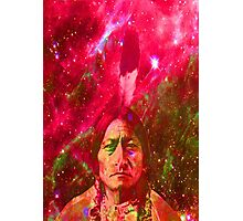 Ghost of Sitting Bull Photographic Print