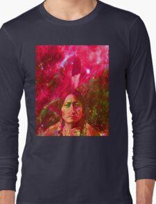 Ghost of Sitting Bull Long Sleeve T-Shirt