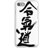 Bushido way of the warrior iPhone Case/Skin
