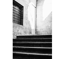Architectural Stone Stairs Photographic Print