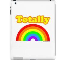 Totally Rainbow Logo iPad Case/Skin