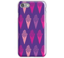 seamless abstract ice cream, dessert , delicious, sweet, iPhone Case/Skin