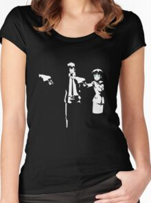 Psycho Fiction Women's Fitted Scoop T-Shirt