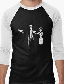 Psycho Fiction Men's Baseball ¾ T-Shirt