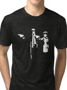 Psycho Fiction Tri-blend T-Shirt