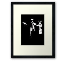 Psycho Fiction Framed Print