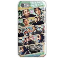 Supernatural Washi Tape iPhone Case/Skin