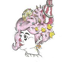 Circus Hair by gemsville