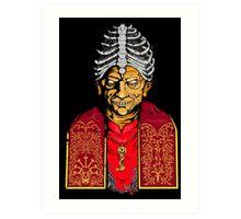 Dark pope Art Print