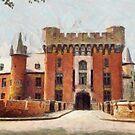 Wijnendaele Castle - Belgium by Gilberte