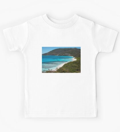 Caribbean Beach for One Person Kids Tee