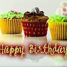 Happy Birthday - Cupcake 04 by garigots