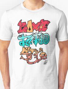 Boxe Tatoo Style Unisex T-Shirt