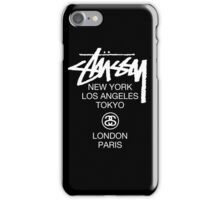 Stussy iPhone Case/Skin