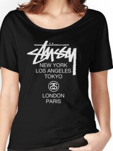 Stussy Women's Relaxed Fit T-Shirt