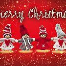 Merry Xmas - Felt & knitting by garigots