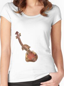 Violessinum V1 - instrumental painting Women's Fitted Scoop T-Shirt