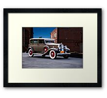1932 Franklin 'Airman' Sedan I Framed Print
