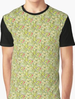 Golden Lily Graphic T-Shirt