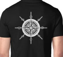 COMPASS, Travel, Navigation, Direction, Orientation, North, South, East, West  Unisex T-Shirt