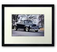 1947 Ford Deluxe Convertible Framed Print