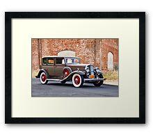1932 Franklin 'Airman' Sedan II Framed Print