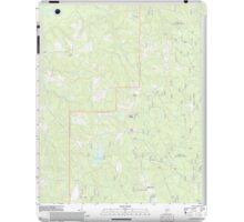 USGS TOPO Map Alabama AL Parker Springs 20110926 TM iPad Case/Skin
