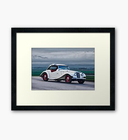 1955 MG TF Roadster Framed Print