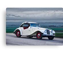 1955 MG TF Roadster Canvas Print