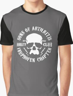 Sons Of Arthritis Motorcycle logo Graphic T-Shirt