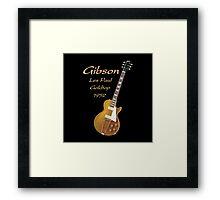 Gibson Les Paul Goldtop 1952 Framed Print