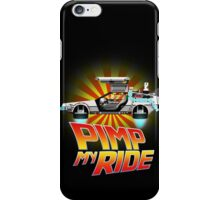 Pimp My DeLorean iPhone Case/Skin