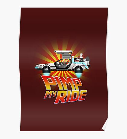 Pimp My DeLorean Poster