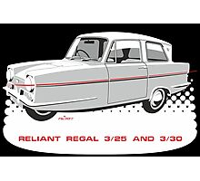 Reliant Regal 3/30 and 3/25 saloon Photographic Print