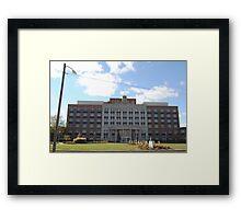 St. Anthony Hospital Framed Print