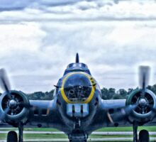 B-17G WW2 Bomber Sticker