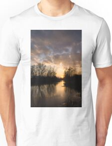 Winter Sunset - Lake Ontario, Toronto, Canada Unisex T-Shirt