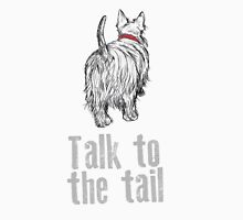 Talk to the tail Womens Fitted T-Shirt