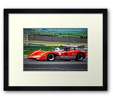 1969 McLaren M8C Can Am Racecar Framed Print