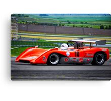 1969 McLaren M8C Can Am Racecar Canvas Print