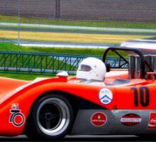1969 McLaren M8C Can Am Racecar Sticker