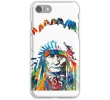 indo-Red Indian iPhone Case/Skin