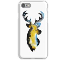 Stag Watercolour iPhone Case/Skin