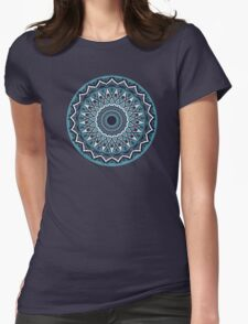 Teal Steal Womens Fitted T-Shirt