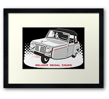 Reliant Regal Coupe (Mark 1) Framed Print