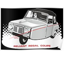 Reliant Regal Coupe (Mark 1) Poster